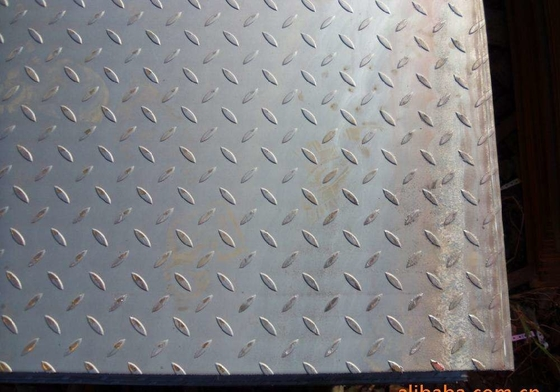 چین ASTM A36 Checker Plate Steel 8.0*5Ft*20Ft Hot Rolled Mild Diamond Plate Steel Sheets 3-10mm تامین کننده