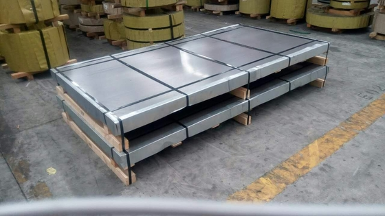 High-Strength HC420LAD Galvanized Metal Sheet Special Use Surface Treatment Rubber Steel Sheet