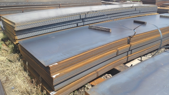 Thickness 5 - 250mm Hot Rolled Steel Plate / Shipping Plate For Shipbuilding