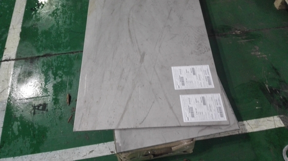 Thickness 0.5 - 50mm Duplex Stainless Steel Plate Corrosion Resistance ASTM Standard