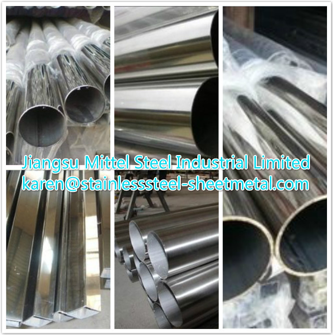 ASTM A249-84b / ASTM A269-90A Stainless Steel Welded Pipe , ss tubing