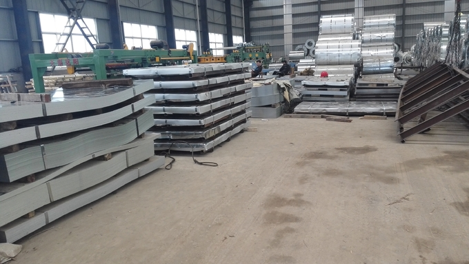 GI Steel Galvanized Sheet Metal Roofing Coated Steel Galvanized Sheet Metal Roll Prepainted