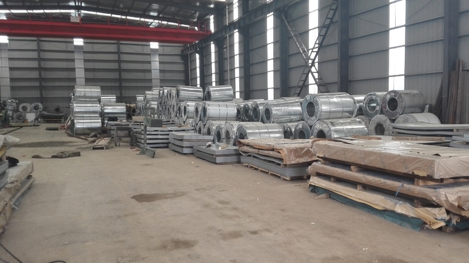 Aluzinc Steel Galvanized Steel Coils DX51D AZ120  Anti Fingerprint Electro Galvanized Steel Sheet
