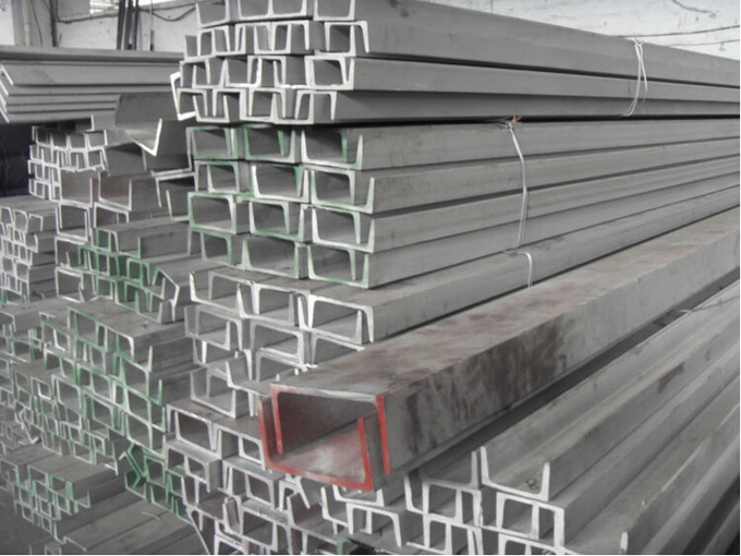 Cold Rolled Stainless Steel / SS U Channel A554 304 304L For Construction